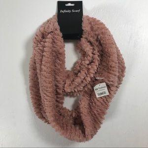 It's fashion infinity scarf blush pink super soft